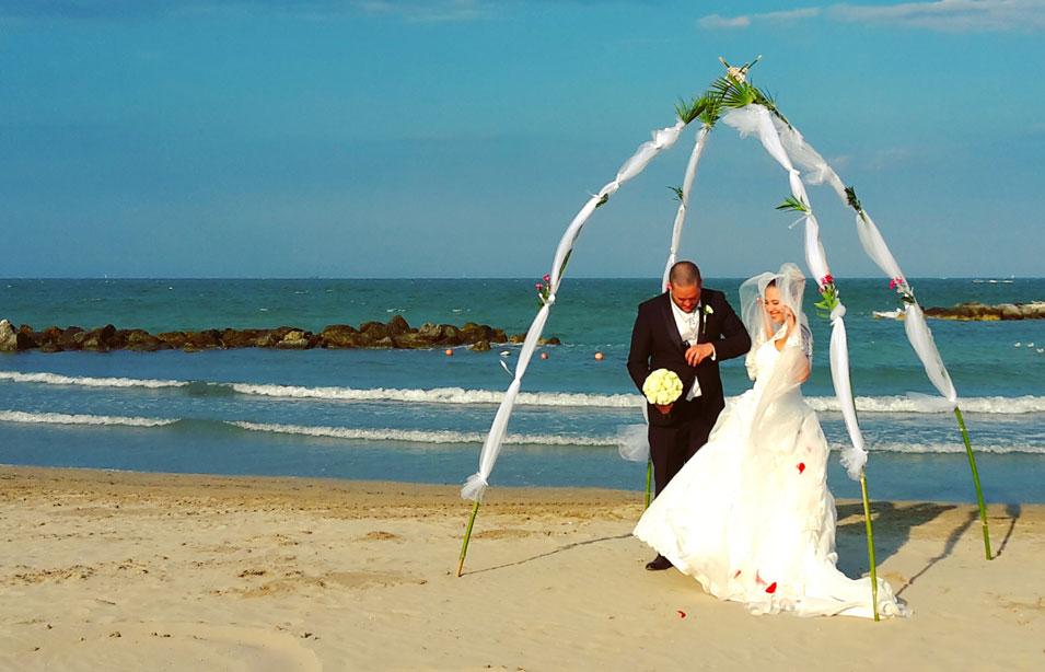 Matrimonio in Spiaggia a Rimini