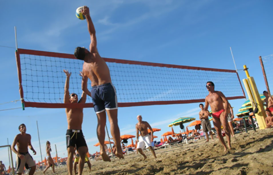 Torneo di Beach Volley a Rimini